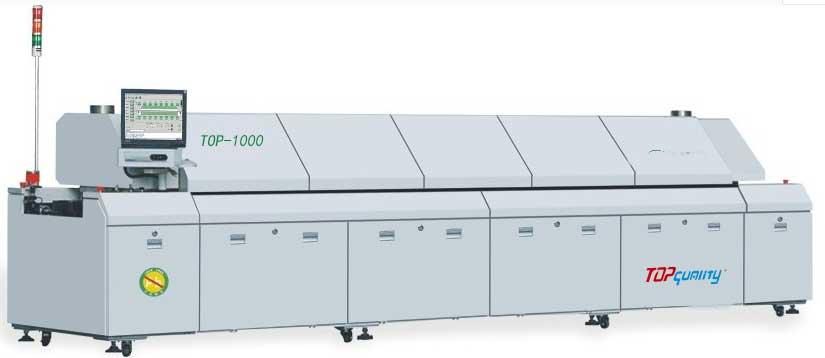 无铅微循环热风回流焊top-1000 SMT回流焊炉