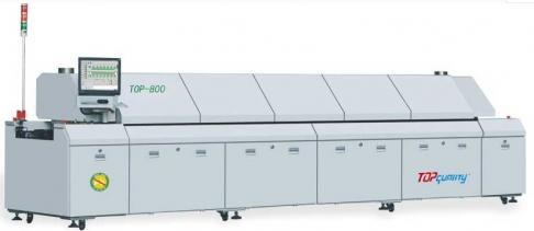 TOP系列回流焊top-800八温区无铅回流焊 回流焊焊接机